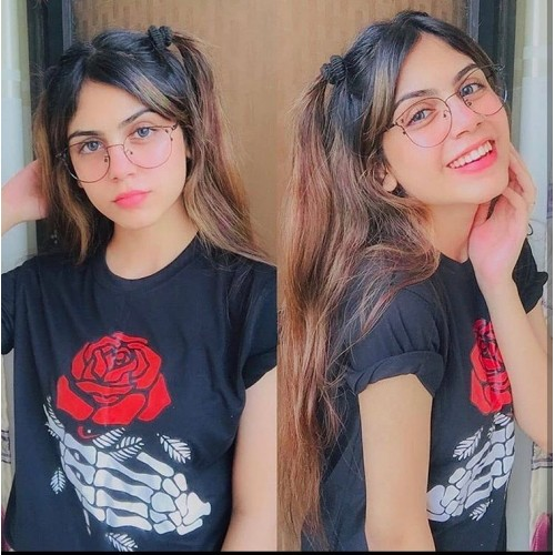 Rose Logo Top Quality T-Shirt For Ladies