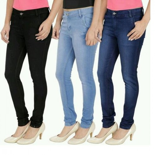 Bundle of 3 Exported Women's Jeans
