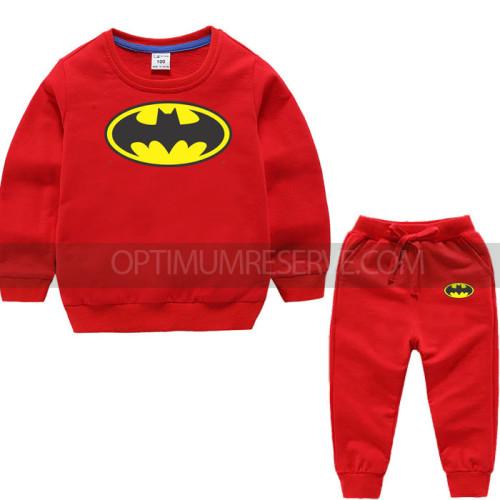 Red Bat Man Tracksuit For Kids