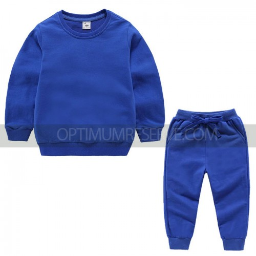 Royal Blue Sweatshirt With Pajama For Kids