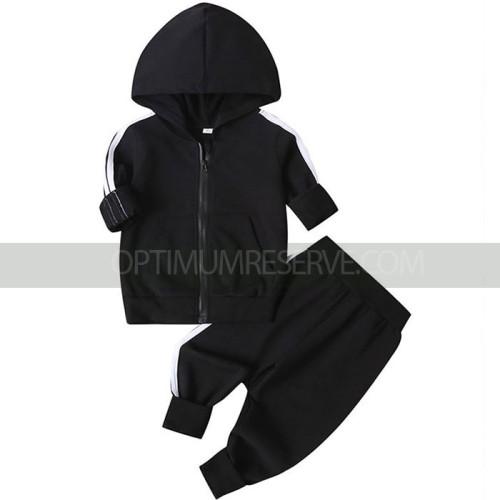 Black Tracksuit For Kids