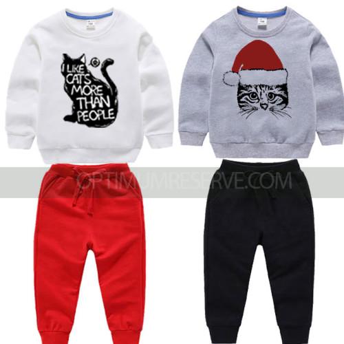 Bundle of 2 Sweatshirt & Pajamas For Kids