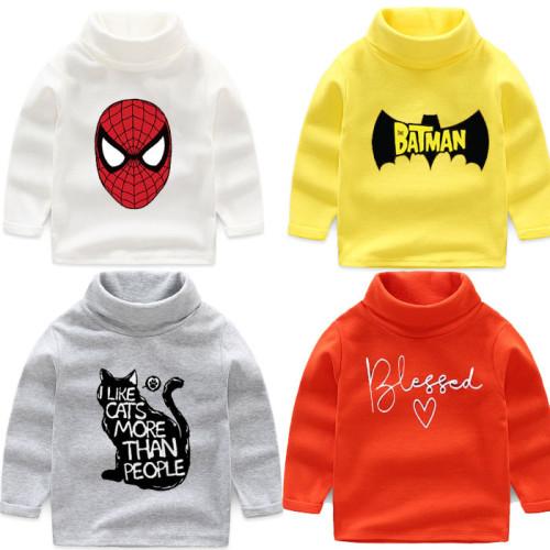 Bundle of 2 Superman & Spiderman Sweatshirts For Kids