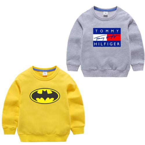 Bundle of 2 Yellow & Grey Fleece Sweatshirt