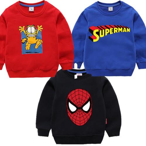 Bundle of 3 Printed Pullover Kids Sweatshirts
