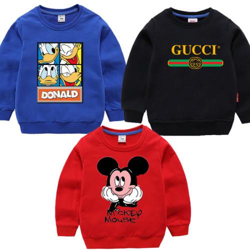 Bundle of 3 Fleece Sweatshirts For Kids