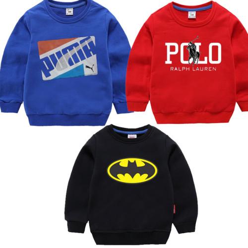 Bundle of 3 Batman, Polo & Puma Sweatshirts For Kids