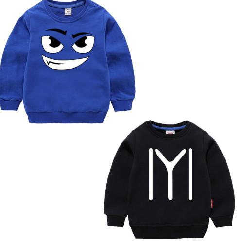 Bundle of 2 Dark Blue & Black Fleece Sweatshirt For kids