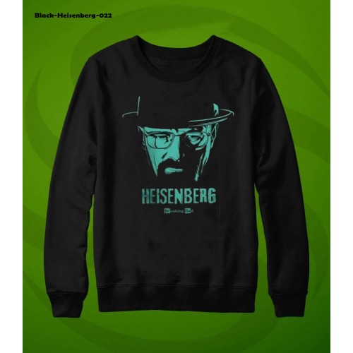 Heisenberg Black Winter Sweatshirt For Men
