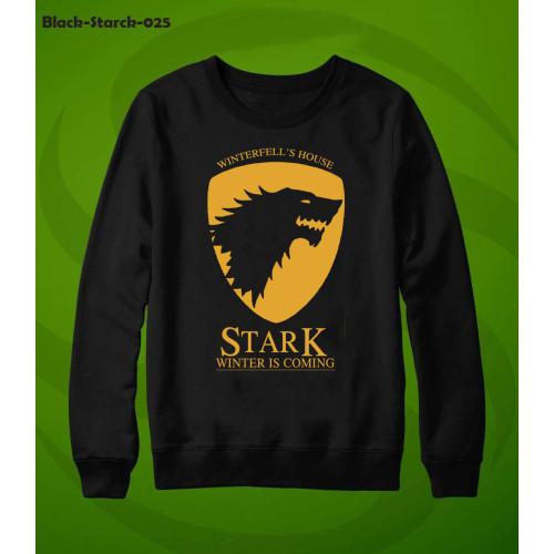 Stark Black Best Quality Sweatshirt For Men
