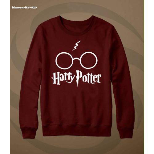 Harry Potter Full Sleeves Sweatshirt in Maroon