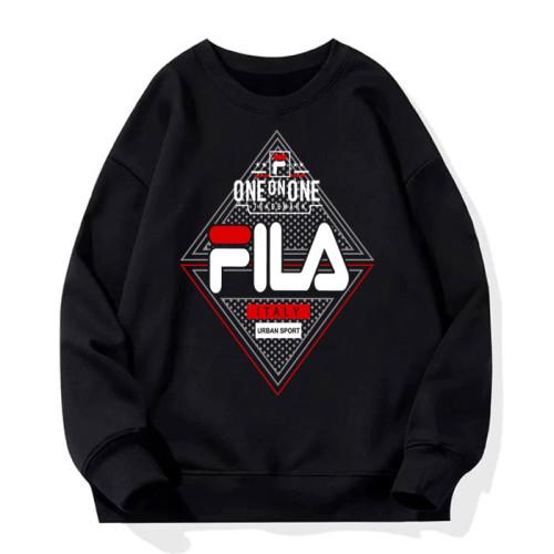 Fila Black Black Fleece Sweatshirt