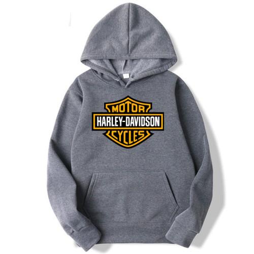 Harley Davidson Charcoal Grey Hoodie