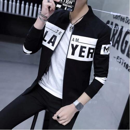 Player Stylish Design Jacket For Men's