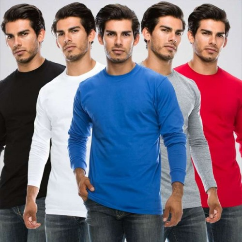 Bundle Of 5 Full Sleeve Basic T shirts