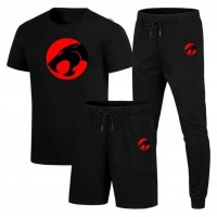 Thunder Cat Black High-Quality Summer Suit For Men