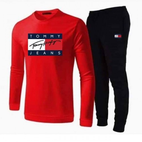 Tj Red Tracksuit Summer Collection For Men