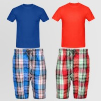 Bundle of 2 Basic T-Shirt & Casual shorts TS-01