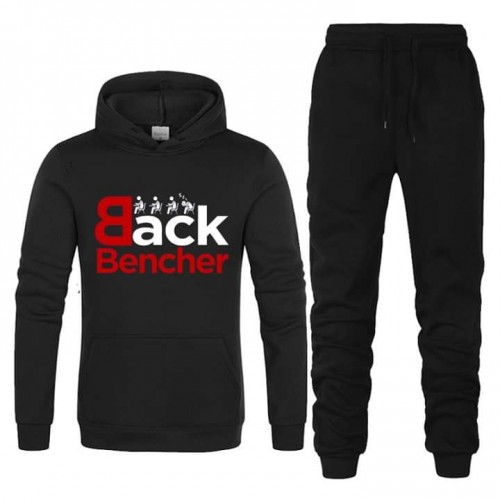 Back Bencher Black Winter Tracksuit For Boys