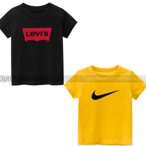 Bundle of 2 Nike and Levis T-Shirts For Kids