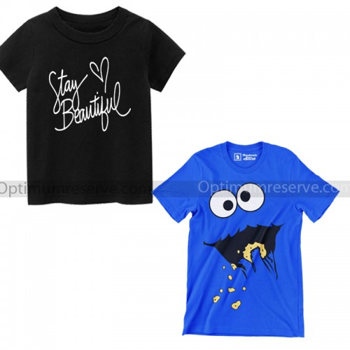 Bundle of 2 Summer Collection T-Shirt For Kids