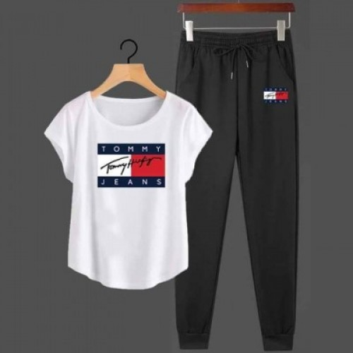 Tj White High-Quality Summer Tracksuit For Ladies