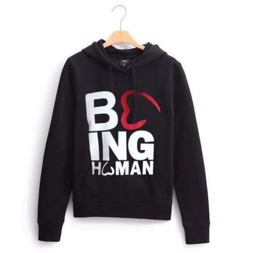 Being Human Black Pullover Hoodie