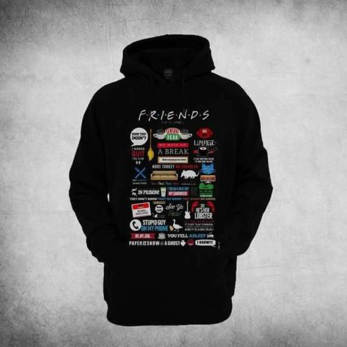Friends Black Pullover Sweatshirt