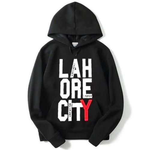 Lahore City Black Fleece Hoodie
