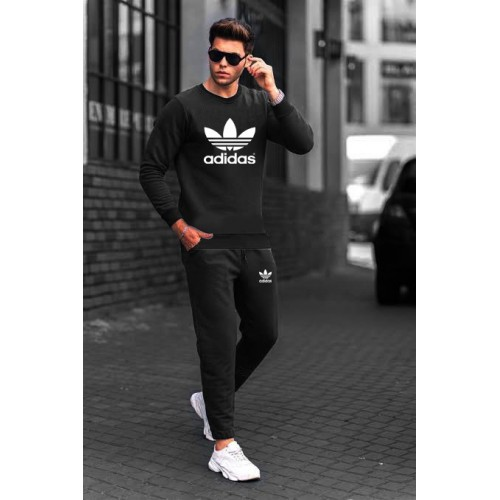 Ad Black Fleece Winter Tracksuit
