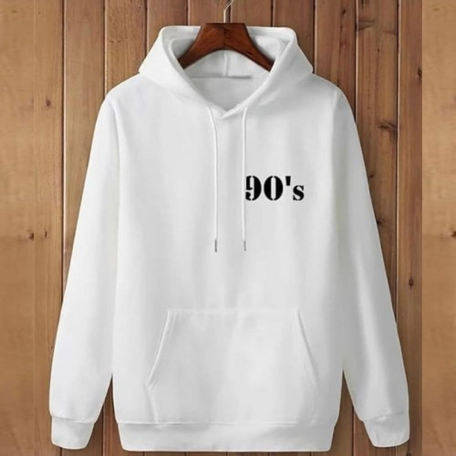 90's Logo Pullover Hoodie For Men