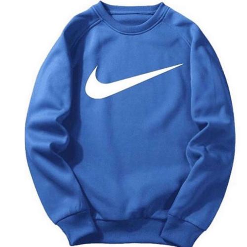 Nk Blue Pullover Sweatshirt