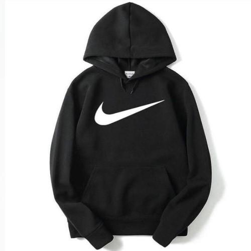 Nk Black Fleece Hoodie For Boys