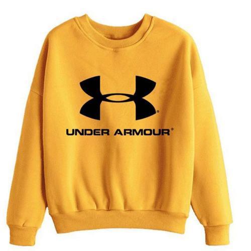 Under Armour Yellow Pullover Sweatshirt