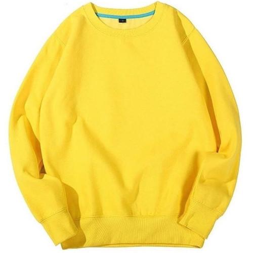 Plain Yellow Best Quality Sweatshirt For Girls