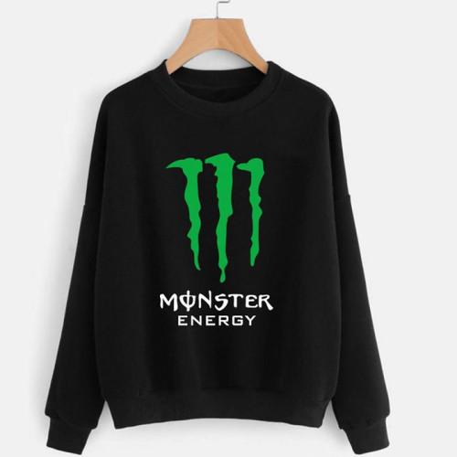 Monster Black Pullover Sweatshirt