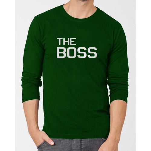 The Boss Green Full Sleeves T-Shirt