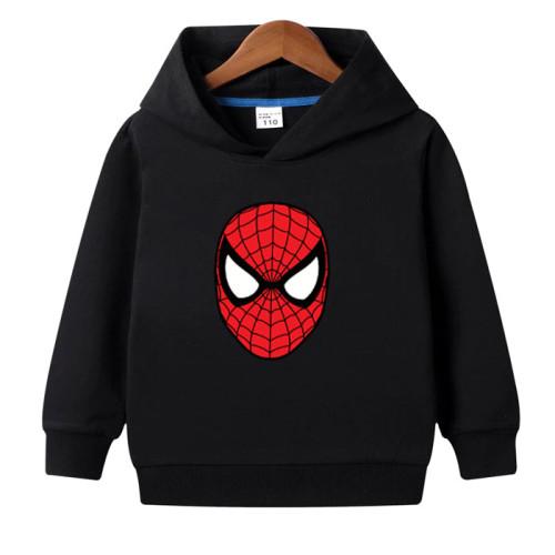 Spiderman Black Hoodie For Kids