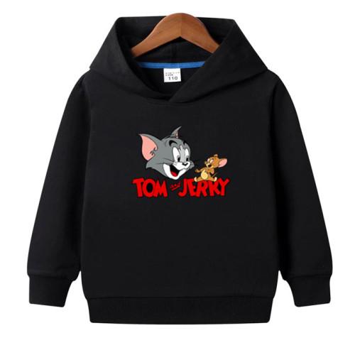 Tom & Jerry Black Pullover Hoodie