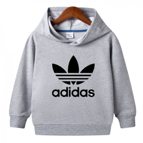 Ad Grey Hoodie For Kids