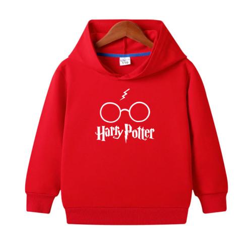 Harry Potter Red Printed Hoodie