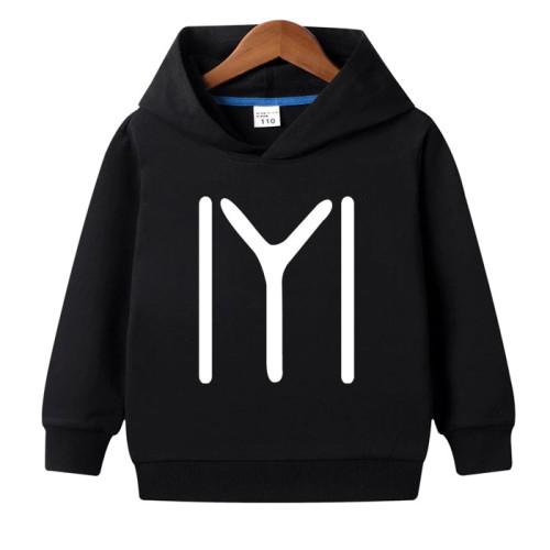 Ertugrul Black pullover Hoodie For Kids