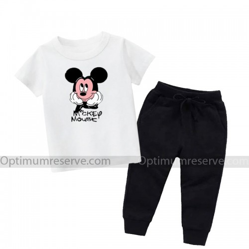 Mickey Mouse Good Quality Summer Tracksuit For Kid