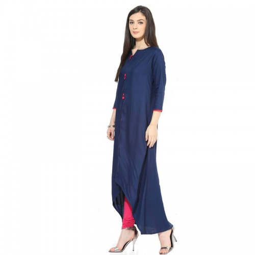 Meeranshi Navy Blue Top For Women