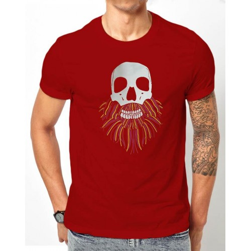 Designer Half Sleeves Printed T-Shirt For Men