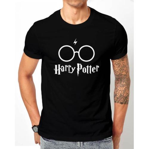 Harry Potter Black Half Sleeves T-Shirt