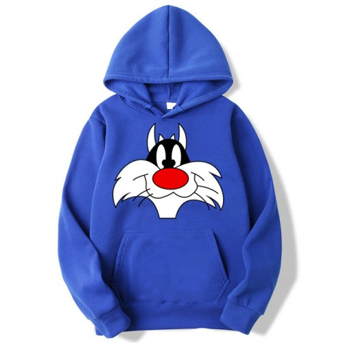 Sylvester Blue Pullover Hoodie