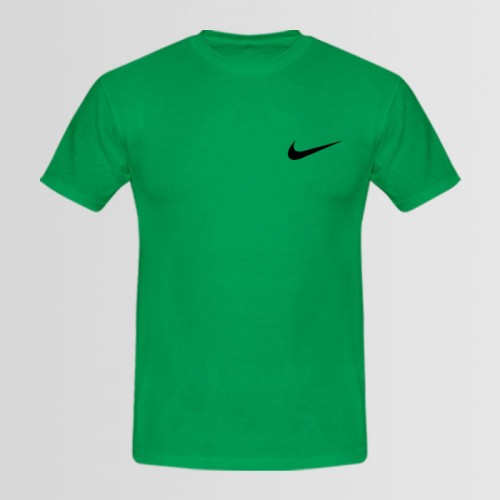 Nike Green Printed Tees For Boys