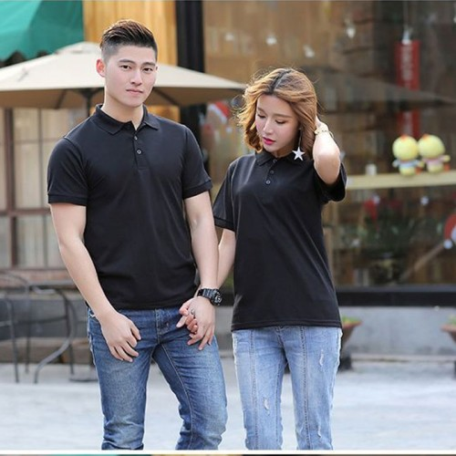 Bundle of 2 Couple Polo in Black