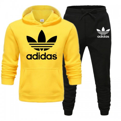 Ad Yellow Winter Tracksuit For Mens